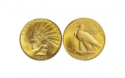 $10 Indian Head VF